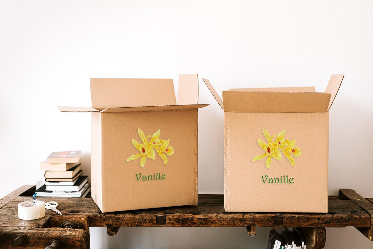 Livraison de vanille